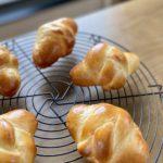 7月キッズクラス:三つ編みロールパン(ウインナー・チーズ・プレーン)